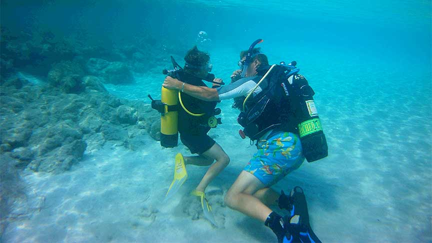 PADI Discover Scuba Diving with Latchi Dive Centre, Paphos, Cyprus
