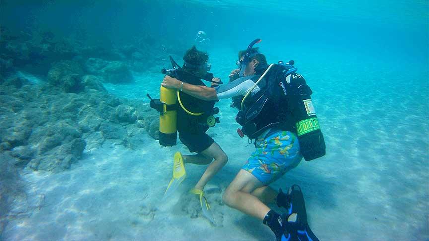 PADI Discover Scuba Diving with Latchi Dive Centre, Paphos, Cyprus