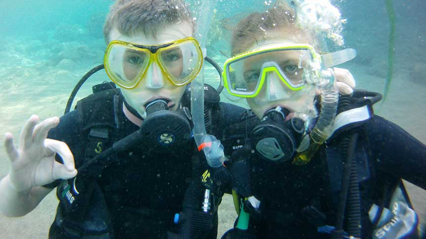 PADI Junior Open Water with Latchi Dive Centre, Paphos, Cyprus