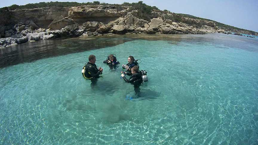 PADI Junior Scuba Diver with Latchi Dive Centre, Paphos, Cyprus