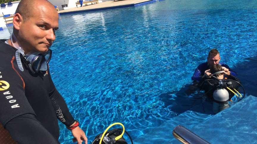 PADI Seal Team with Latchi Dive Centre, Paphos, Cyprus