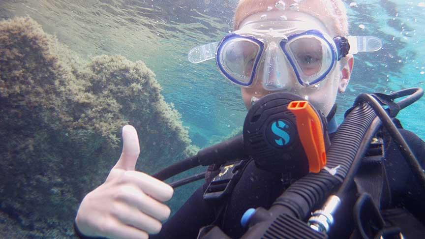 PADI Bubblemaker with Latchi Dive Centre, Paphos, Cyprus