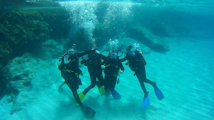 PADI junior discover scuba diving with Latchi Dive Centre, Paphos, Cyprus