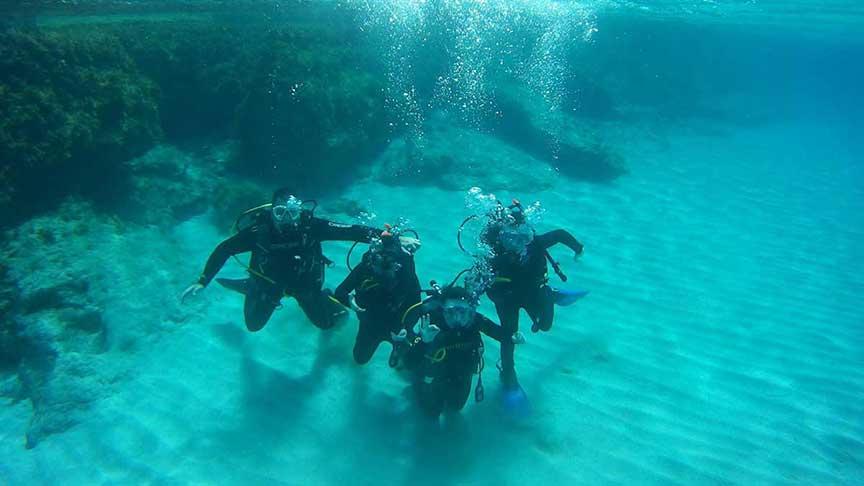 PADI Scuba Diver with Latchi Dive Centre, Paphos, Cyprus