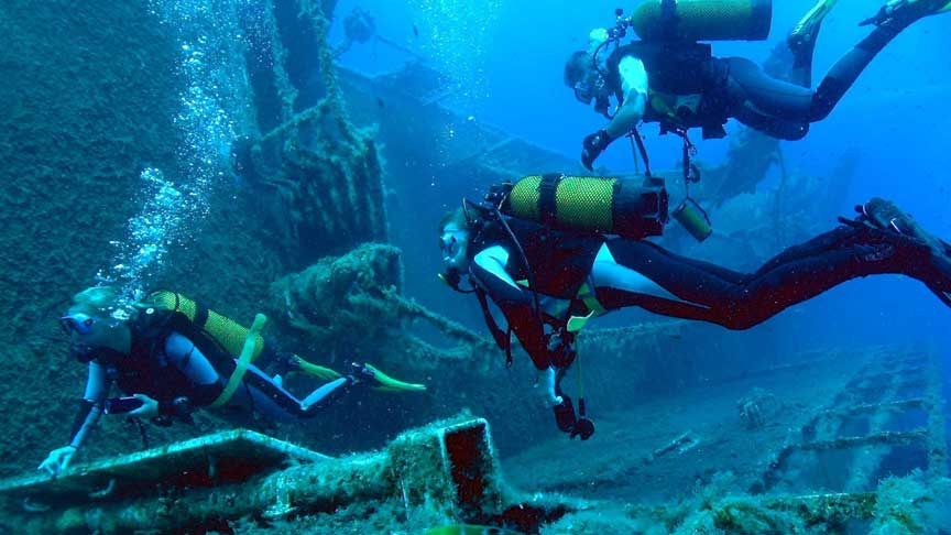 Zenobia Wreck Dives with Latchi Dive Centre, Paphos Cyprus