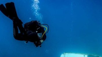 The Zenobia Wreck is the Number one dive site in Cyprus