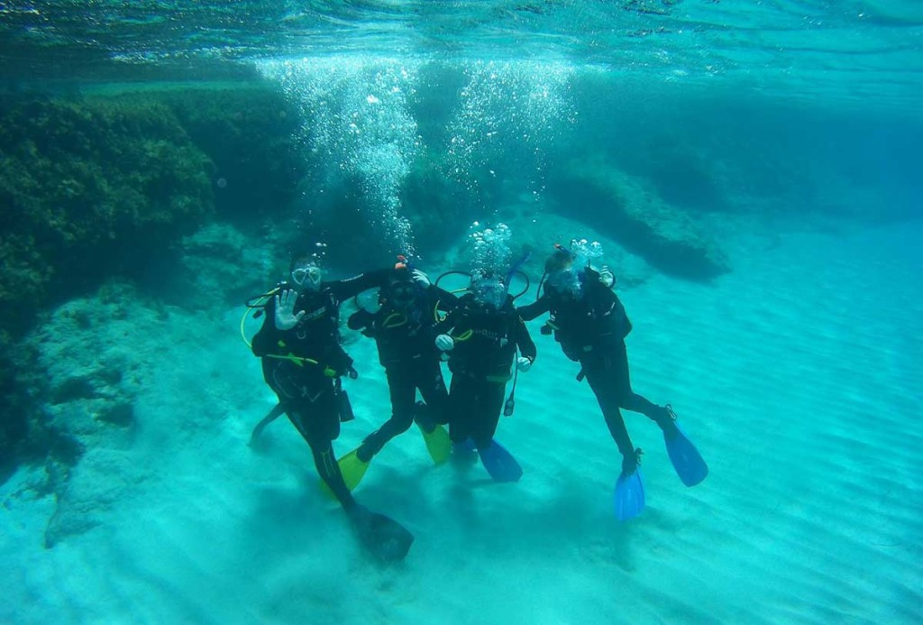PADI Discover Scuba Diving Course in the Blue Lagoon with Latchi Dive Centre, Cyprus
