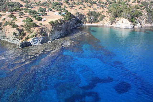 Aphrodites Bay Dive Sites on the Akamas Peninsula with Latchi Dive Centre, Cyprus
