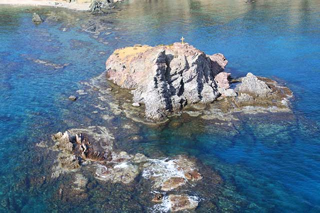 Aphrodites Rock Dive Sites on the Akamas Peninsula with Latchi Dive Centre, Cyprus