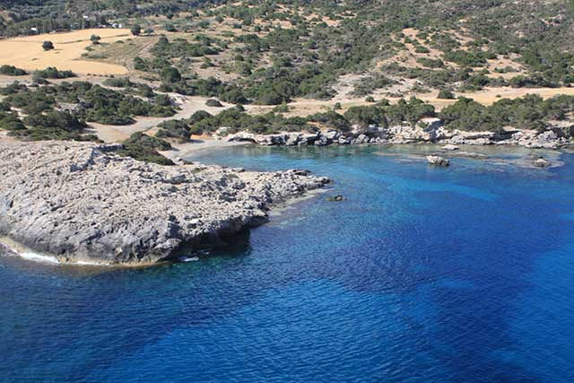 Ampitheatre Bay Dive Sites on the Akamas Peninsula with Latchi Dive Centre, Cyprus