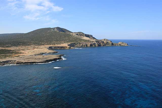 Black Rocks Dive Sites on the Akamas Peninsula with Latchi Dive Centre, Cyprus