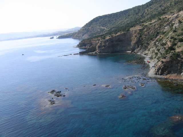 St. George's Reef Dive Site on the Akamas Peninsula with Latchi Dive Centre, Cyprus