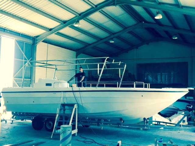Latchi Dive Centre Dive Boat, Cyprus