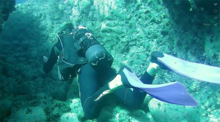 scuba diving video latchi dive centre, by Arne J Wood