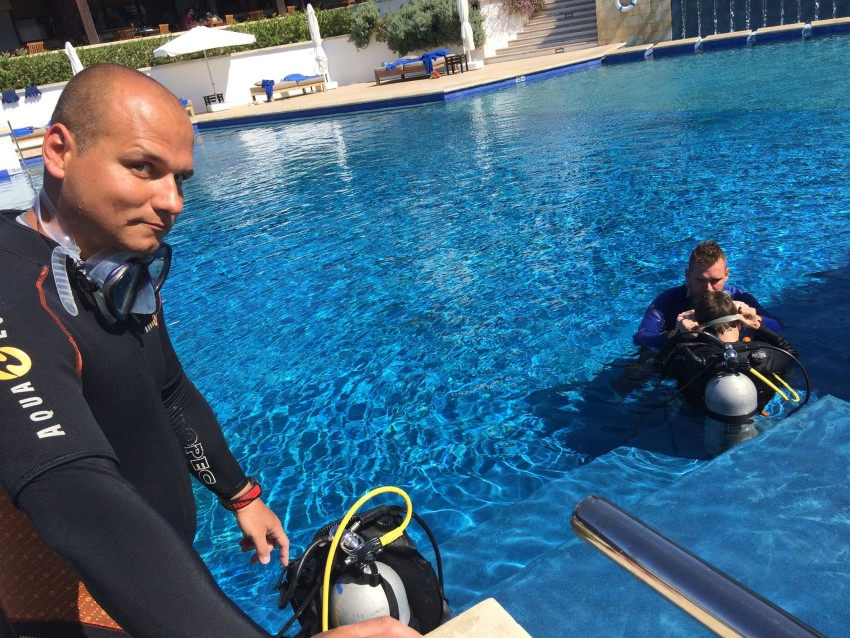 Seal Team with Latchi Dive Centre, PADI 5 Star Dive Centre in Cyprus