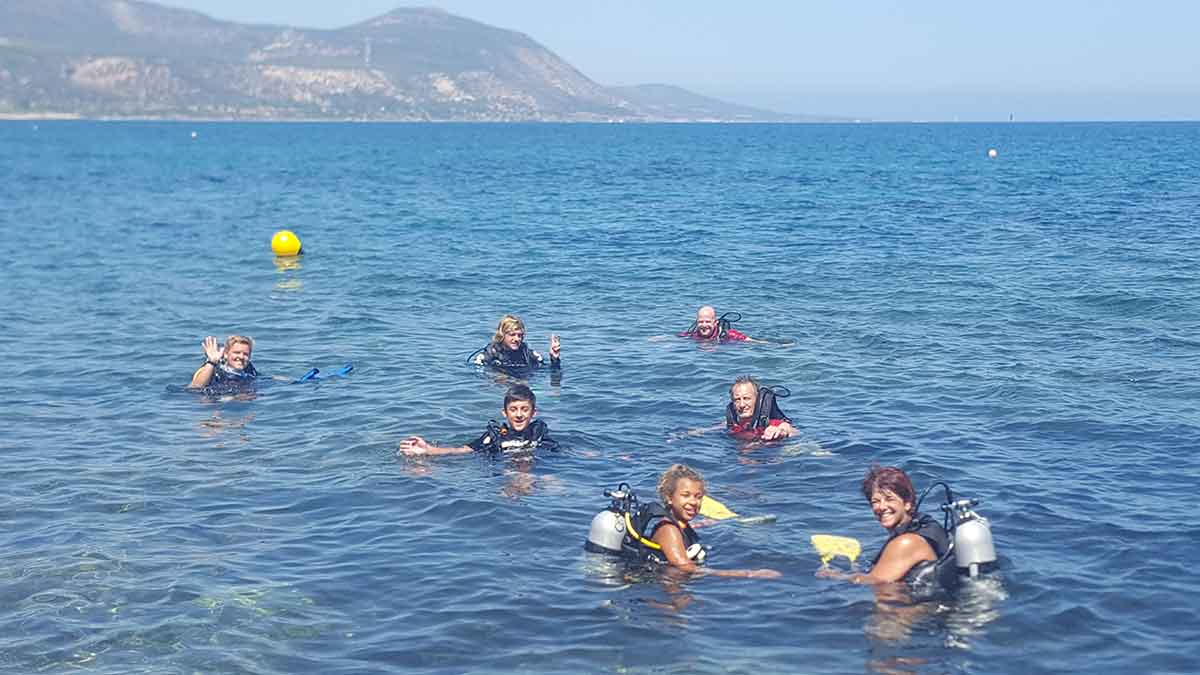 PADI Open Water Course in Cyprus with Latchi Dive Centre