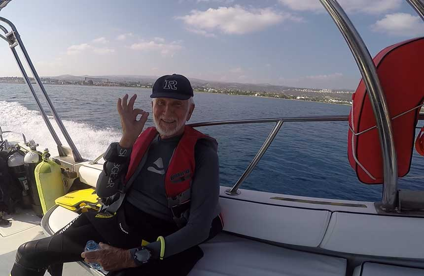 Try Scuba Diving - Ray Woolley World Record Breaking Diver at 94 years old