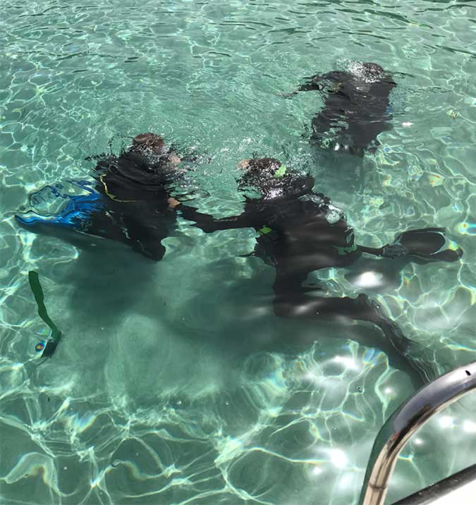 Discover Scuba Diving in the Blue Lagoon with Latchi Dive Centre, Cyprus