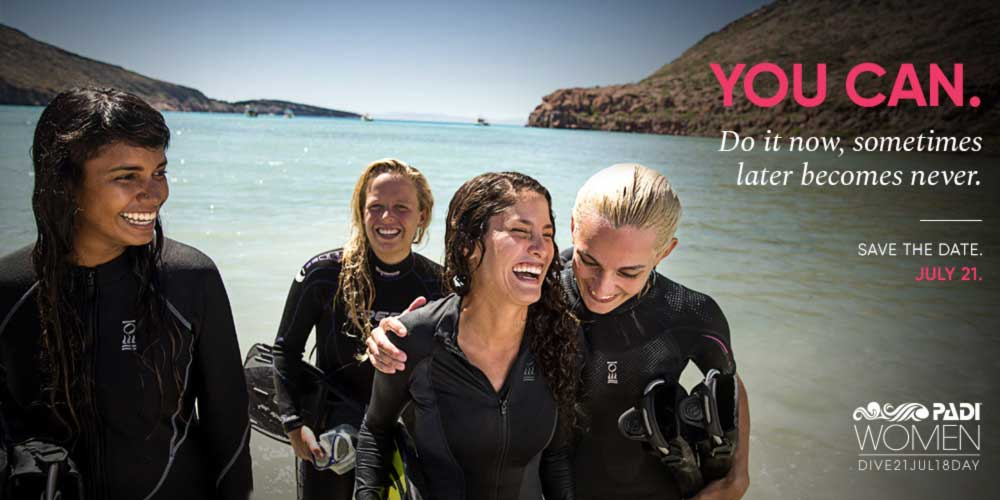 PADI Women's Dive Day on Saturday, 21 July 2018 at Latchi Dive Centre