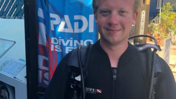 Latchi Dive Centre Intern Jack Perry