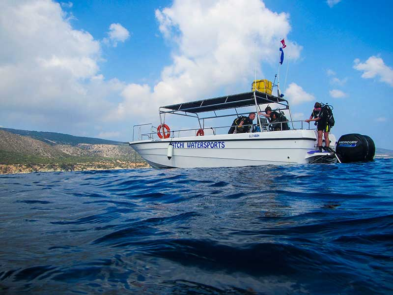 Private Diving from Latchi Dive Centre Boats