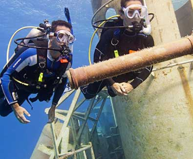 PADI Wreck Diver Speciality | Latchi Dive Centre PADI 5 Star Instructor Development Centre in Cyprus