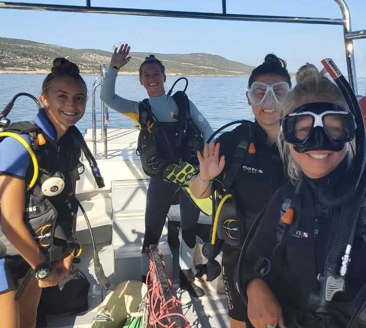 Becoming a Divemaster in Cyprus with Latchi Watersports Centre in Cyprus